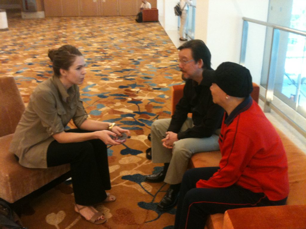 Journalist Jo Baker interviews Bruce Lee siblings, Robert and Pheobe Lee